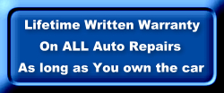 Lifetime Warranty on All Repairs